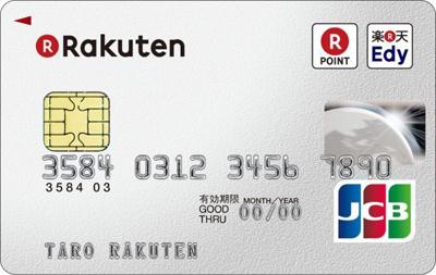 楽天カード券面