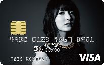 花澤香菜 VISAカード券面