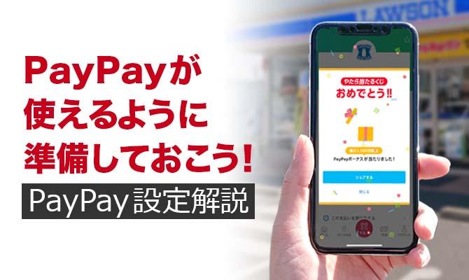 PayPay設定解説